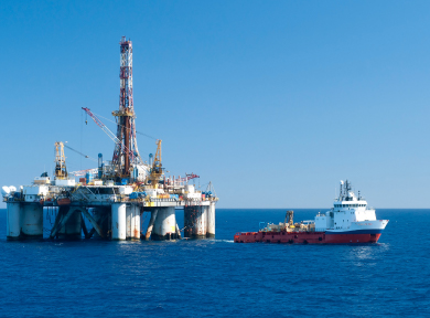 oil rig security